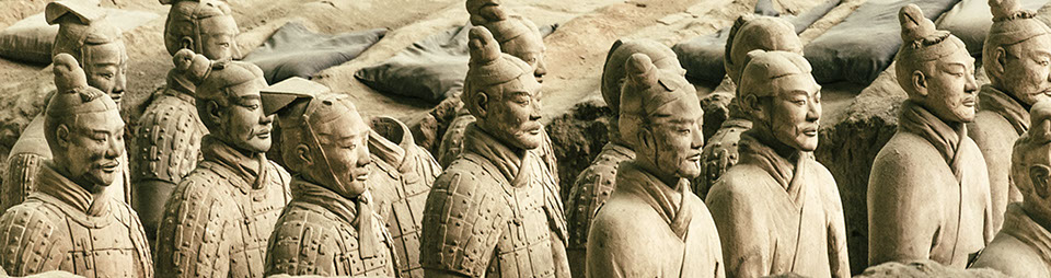 Army of the Terracotta Warriors in Xian, China